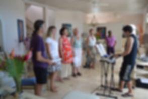 Singing holidays workshop