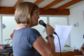 Solo singing workshop singing retreat