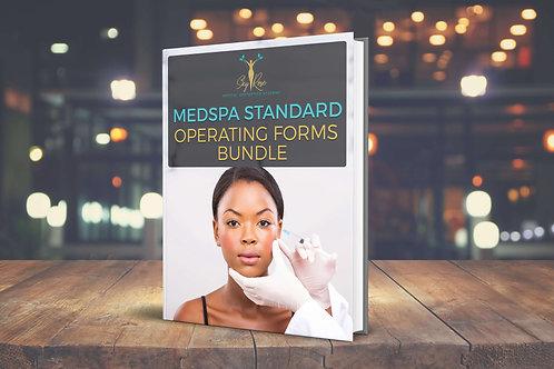 Medspa Standard Operating Forms Bundle