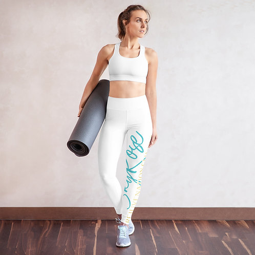 SkyRose RCS Yoga Leggings-White