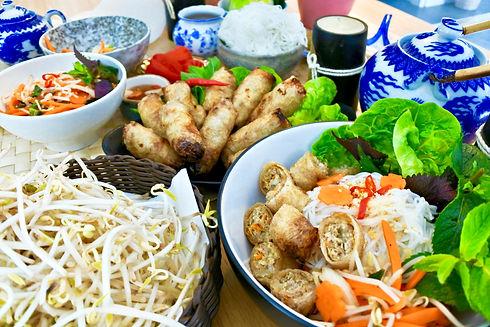 nem, nem bar, vietnamese food, street food, gluten free, dairy free, springroll, cuisine vietnamienne, frederique nguyen, olivier decomrebredet