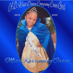 Cover Girl  Miss Karrington Cason