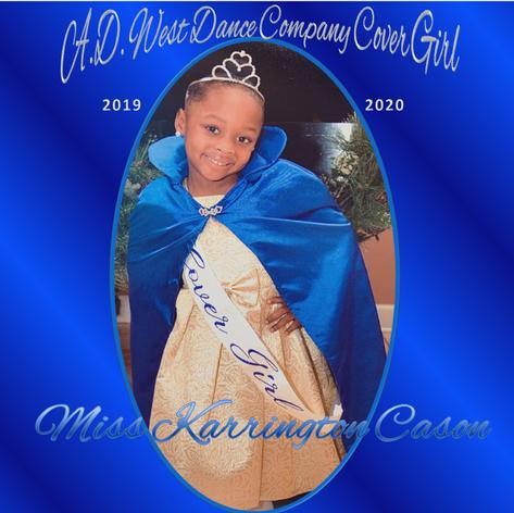 Cover Girl  Miss Karrington Cason