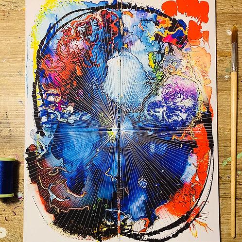 "Artist's MRI: 11"" x 14"" Giclee Print"