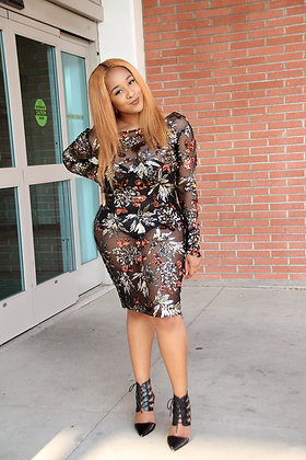 LC Sequins Dress