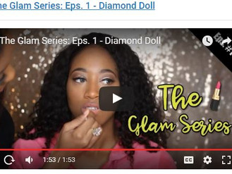 Photoshoot from YouTube Glam Series:  episode 1