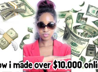How I made $10,000 on INSTAGRAM