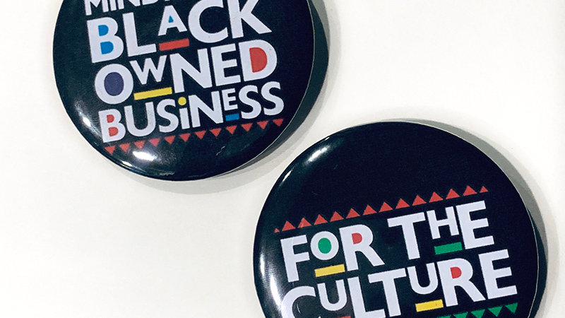 For The Culture pins (2pc)