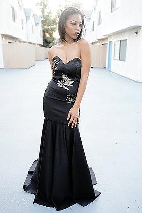 LC detachable gown