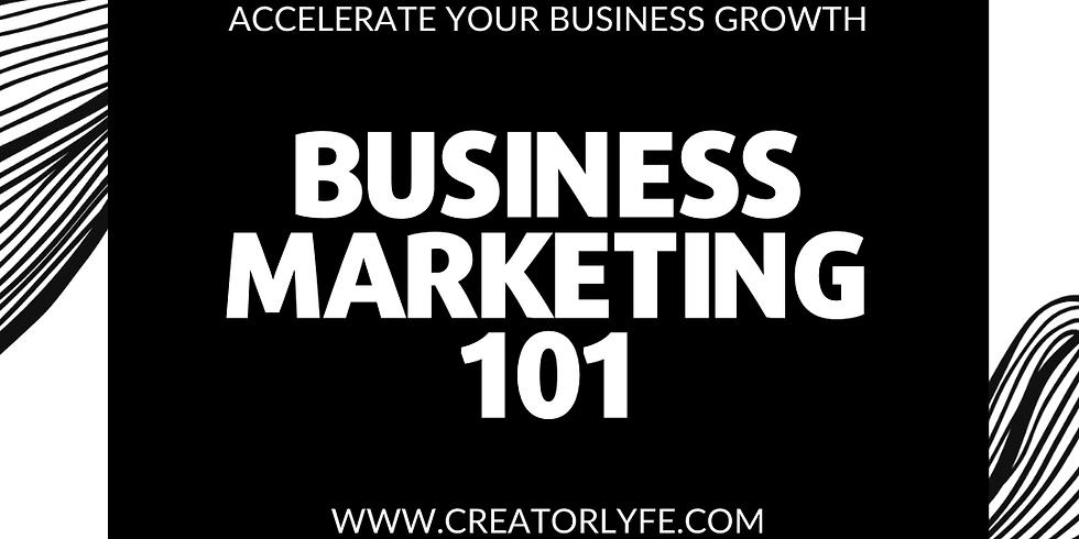 Business Marketing 101