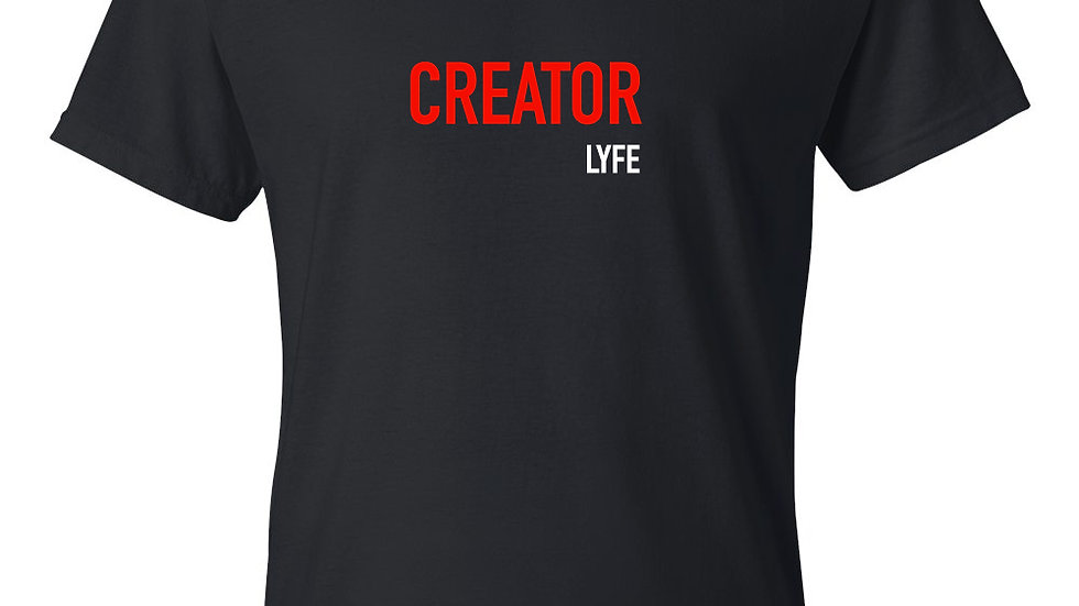 Creator Lyfe (black & red) | Unisex T-Shirt