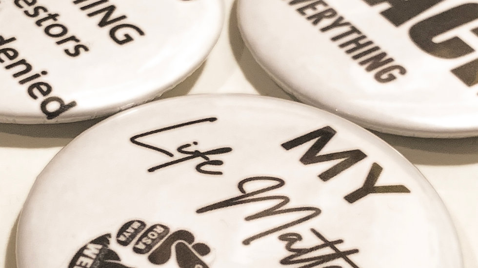 3 Button Badges (2.5 inch)