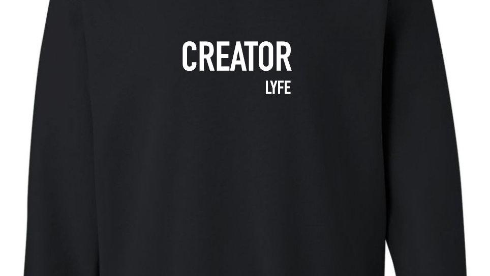 Creator Lyfe   Unisex Crewneck