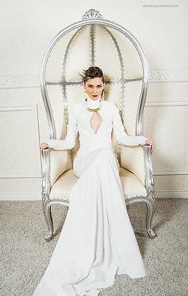 "The ""Krystal"" gown"