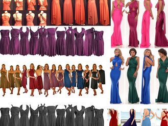 100+ ways to wear Infinity Gown