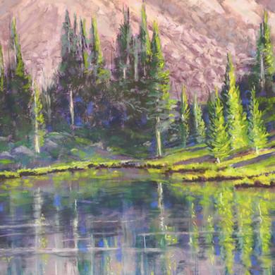 "Neva Lake Reflections - 12""x16"""