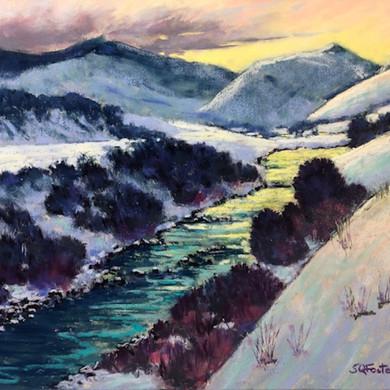 """Yellowstone Dawn - 12"""" x 16"""""""