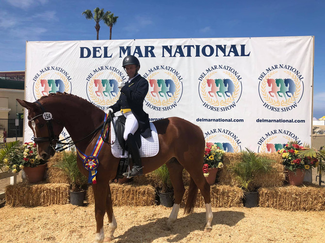 Winner! USEF Developing Prix St George Qualifier