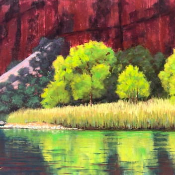 "Green River Greens - 12"" x 16"""