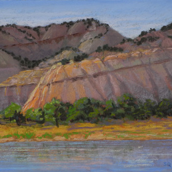 Evening Glow in Island Park - Sold