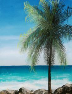 """Tropical Breeze - 16""""x12"""""""