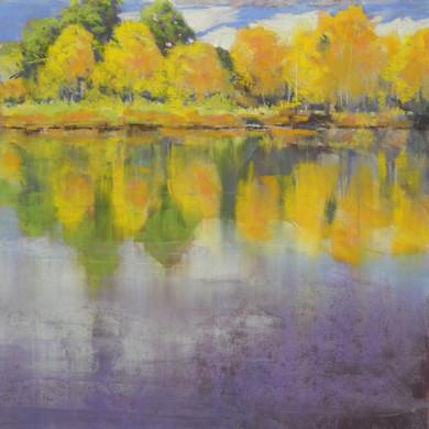 """Lakeside Lavender - 16""""x12"""""""