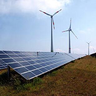 Schneebergerhof wind farm in the Germany
