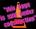 page still under construction orange con