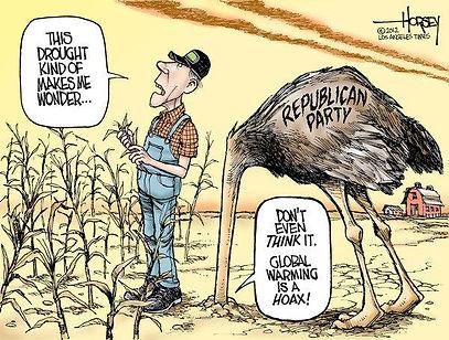 cartoon, Drought Makes you wonder - CC i