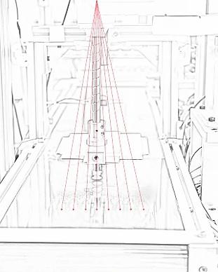 Laser DOE-optiikalla