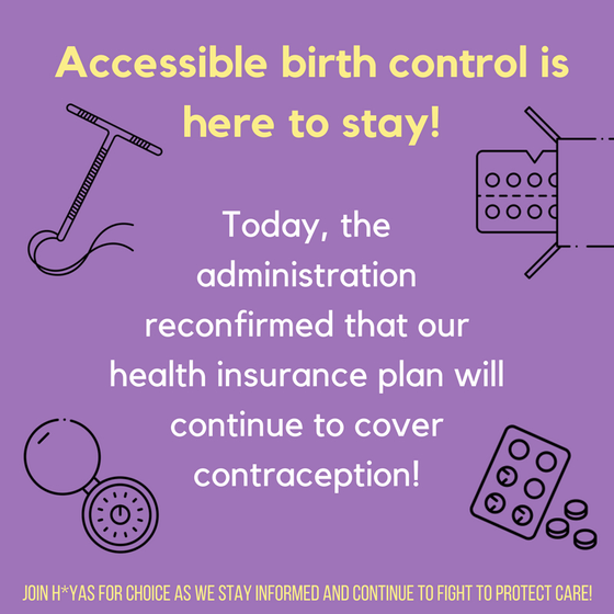 Georgetown Student Health Insurance Ensures Continued Contraceptive Coverage