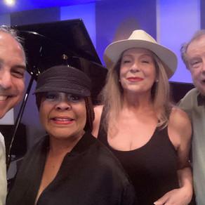 (L to R) David Arana, Freddie Pool, Carla Marlowe and Rick Gianatos