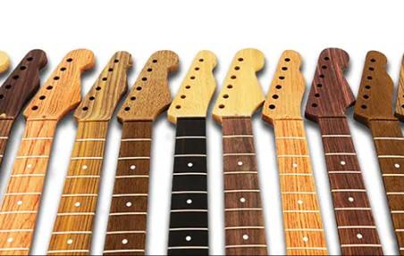 A anatomia da guitarra