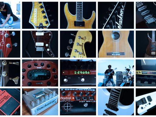 Os equipamentos na vida de um músico profissional - Parte 16