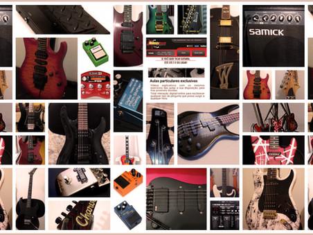 Os equipamentos na vida de um músico profissional - Parte 13