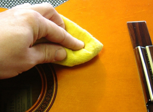 Como cuidar de seu instrumento