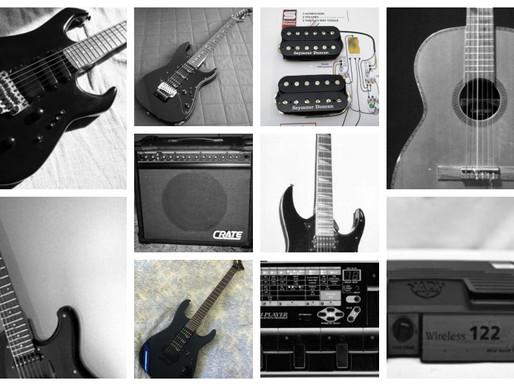 Os equipamentos na vida de um músico profissional - Parte 5