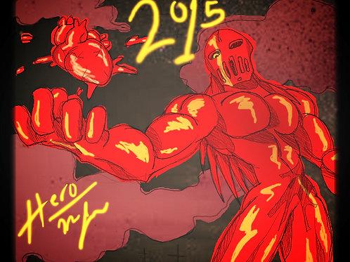 Red Heart Artwork