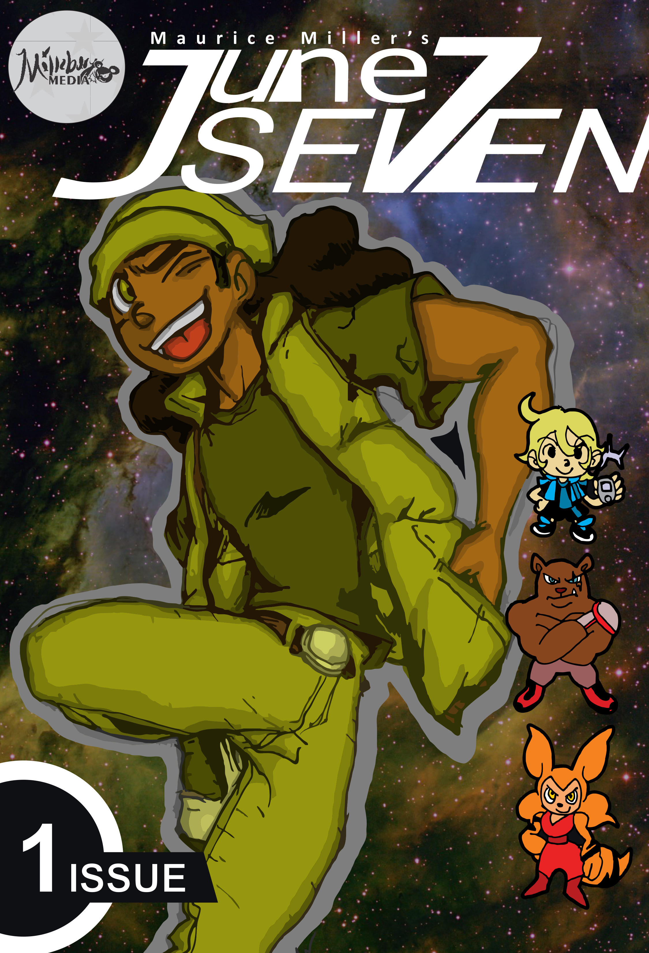 June Seven Comic Series