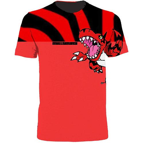 Raptor Print Tee Shirt