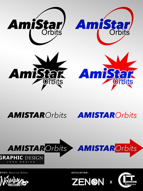 Graphics Request: 1 Logo Concept + 4 Variations ( NO CHANGES )