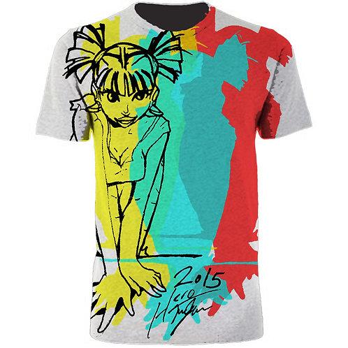 Sexy Girl Print Tee Shirt