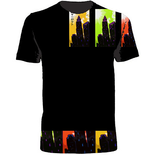 Colors of Charlotte Print Tee Shirt