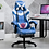 Thumbnail: Gaming Chair Leather High Back Racing Style