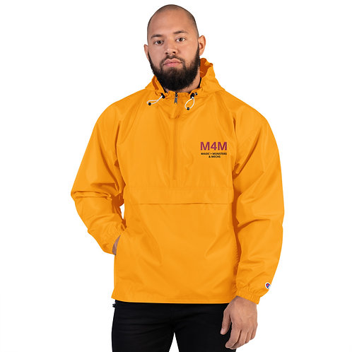 M4M Embroidered Champion Packable Jacket