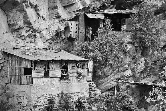 Hillside hermitage