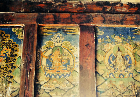 Ancient thanka murals
