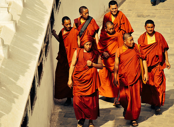 Stupa pilgrimage