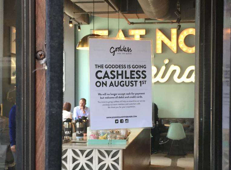 Restaurant now cashless