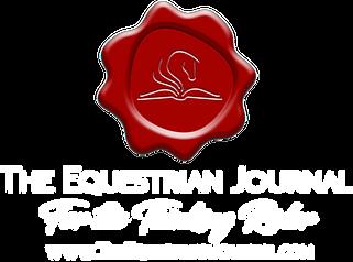 Equestrian Journal Logo.white.Thinking R